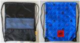 Sacchetto impermeabile dello zaino di disegno di Gymsack di nuoto del Drawstring speciale di ginnastica