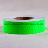 Rullo adesivo dell'autoadesivo di avvertenza d'avvertimento riflettente prismatica di sicurezza di evidenza (C3500-OXR)