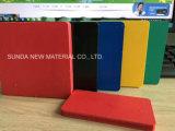 La junta de espuma de PVC blanco, Plástico de PVC hojas, hojas de espuma de poliuretano de alta densidad