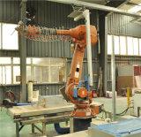 Machine de découpage de robot de jet d'eau avec la tête de découpage Waterjet pure