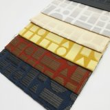 Hilado teñido de poliéster textil hogar almohada Tapizados