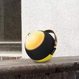 2018 die neueste drahtlose Bluetooth Lautsprecher-Stütztaschenlampe mit Griff-Leder