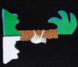 Parte Deocration en forma de panal de papel Papel Higiénico Centro