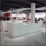 새로운 디자인 수신 카운터 본사 가구를 위한 백색 수신 카운터