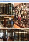304# het Zwarte Kabinet van de Vertoning van de Wijn van de niet-Vingerafdruk van het Titanium S/S met Compressor