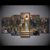 HD напечатало 5 возвращений Иисуса Христа картины искусствоа холстины части классицистических к украшению стены земли христианскому