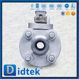Robinet à tournant sphérique posé par métal de flottement à haute pression de Didtek
