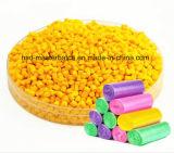 Colore giallo Masterbatch di alta qualità per i prodotti della plastica dello stampaggio ad iniezione