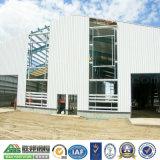 Construcción de acero prefabricada de varios pisos del almacén del diseño