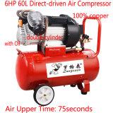 6HP Двойной цилиндр поршня гидравлического насоса разреженности воздуха воздушный винтовой компрессор