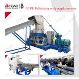 Pp.-PET Plastikfilm-granulierende Maschine /Agglomerator, das Zeile Maschine pelletisiert
