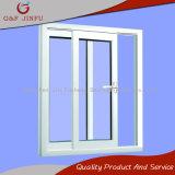Liga de alumínio de metal e vidro corrediço de porta com vidro duplo