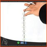 Branelli anali di vetro del piccolo mini di estremità di pollice 6.7*0.6 acetato anale della spina