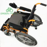 Greenpedel 24V 250W Foldable Electric Wheelchair for Disabled People