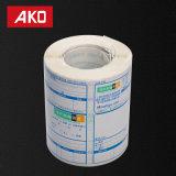 Étiquettes directes importées de logistique d'étiquettes d'expédition d'usine de papier multifonctionnel de desserrage