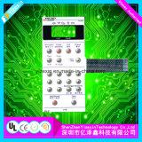 Interruptores de membrana polis gravados descanso do teclado da abóbada do diodo emissor de luz