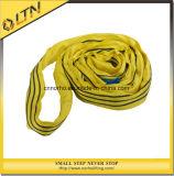 1T Ce TUV GS polyester standard de levage de l'oeil l'élingue ronde (SNDH)