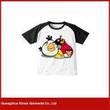 中国の卸し売り安い高品質のTシャツの印刷の快適な100%年の綿のTシャツ所有するため工場製造のTシャツ(R198)を