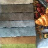 Tecido de malha de polietileno Imprimir Tecido de veludo para sofá