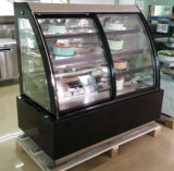 Porta de vidro corrediço curvos Padaria Pastelaria Comercial Exibir congelador (KT 760 AF-M2)