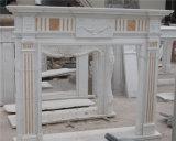 Mensola del camino intagliata stufa di pietra del camino del calcare dell'arenaria del marmo del granito