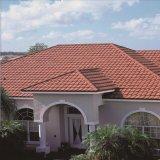 Tuile de toit en acier enduite en pierre de diverses couleurs