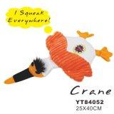 Jouet animal grinçant, jouet fait sur commande de crabot de peluche (YT84053)