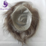 人間の毛髪の極度の薄い皮の毛システム(TP18)