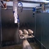 Machine d'enduit manuelle de poudre