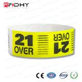 Band des Laserdruck-Firmenzeichen-RFID Tyvek für Aktivitäts-Management