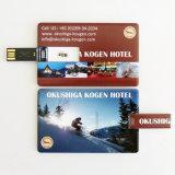 Azionamento promozionale dell'istantaneo del bastone di memoria del USB della carta di credito del regalo (YT-3101)