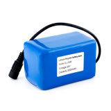 pack batterie rechargeable de Li-Polymère de 24V 3000mAh pour l'éclairage LED