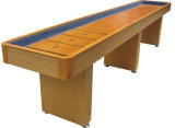Tabela de shuffleboard profissional elegante ideal para diversão em família, materiais de alta qualidade e todos os acessórios incluídos