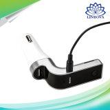 Carregador para automóvel Bluetooth do telefone móvel de saída do carregador USB 5V/2,5A com TF cartões de suporte