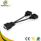 Potência de PCB personalizados do banco de dados de 9 pinos do adaptador para o computador