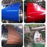 Dx51d PPGI bobina de aço revestido de cor Prepainted Aço Galvanizado PPGI Bobina Strip