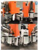 El material se compone de la máquina de corte CNC con control digital