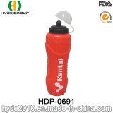 De grote Fles van het Water van de Sport van de Capaciteit 1200ml Openlucht Plastic (hdp-0691)