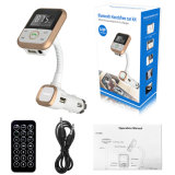 Kit de coche para iPhone cargador Hot nuevo transmisor FM Bluetooth Bt67 Reproductor de MP3