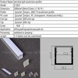 18mm*13mm het LEIDENE van de Vorm van U Profiel van het Aluminium met Licht Stip