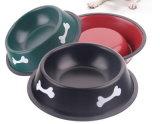 Venda de cachorro quente impresso Taça de PET em aço inoxidável com alta qualidade/Taça de cães em aço inoxidável