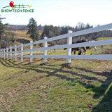 Высокий уровень безопасности дешевые самоклеящаяся виниловая пленка ПВХ лошадь направляющей линейке/Фермы ограждения