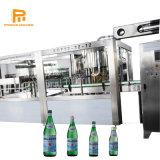Pequeño Frasco de vidrio automático mascotas Agua Mineral / Soft bebidas bebidas carbonatadas y jugos de fruta de embotellado de llenado en caliente haciendo equipo / Línea de producción