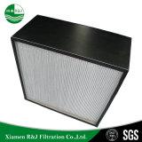 Tissu Non-Woven-Filtre à air HEPA sans séparateur pour Clean-Room