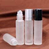 Limpar o óleo essencial de Esferas do Rolete Fosco Frascos de perfume 10ml Roll em garrafas de vidro da bola para frascos de óleo essencial de perfume