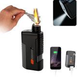 Chargeur de téléphone de camping lampe torche à LED briquet électronique