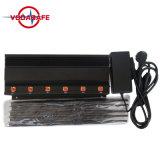 De Stoorzender van VHF&UHF&Mobile&WiFi&GPS, de Stationaire Stoorzender van Cellphone van 6 Banden, Stoorzender van de Camera WiFi van China de Video Digitale, Stoorzender van China