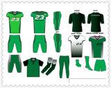 Commerce de gros personnalisé sublimé maillot de football américain de la jeunesse