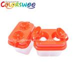 Rondella portatile della vernice del rifornimento di arte, rondella della spazzola, tazza della lavata, tazza di plastica, POT di plastica della rondella della spazzola