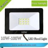 2years保証の屋外の照明30W-50W-100W IP65日光のための細いDriverlessの高い発電LEDの洪水ライト